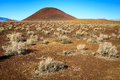 Red Hill cinder cone Royalty Free Stock Photo