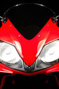 Red Honda CBR Stock Photo