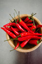 Red hot chili peppers Royalty Free Stock Photo