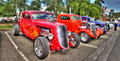 1933 red Hot rod Royalty Free Stock Photo