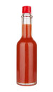 Red hot sauce Royalty Free Stock Photo