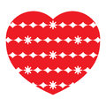 Red icon heart shape