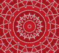 Red Inspiration Mandala