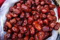 Red jujube Royalty Free Stock Photos
