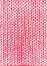 Red knit background vintage texture knitted pig tail for design Stock Photography