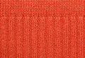 Red knitted fabric texture abstract background Stock Image