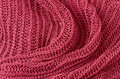 Red knitted pullover background Royalty Free Stock Images