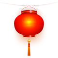 Red lantern. Royalty Free Stock Images