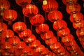 Red  Lanterns Royalty Free Stock Photo