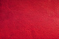 Red leather background Royalty Free Stock Photos