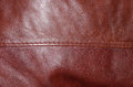 Red leather can be used as background Royalty Free Stock Photos