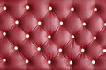Red leather texture armchair of Royalty Free Stock Photography