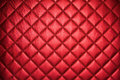 Red leather texture detail of Stock Photos