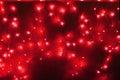 Red led light Stock Images
