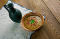 Red lentil soup Royalty Free Stock Photo