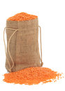 Red Lentils Royalty Free Stock Photography