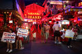 Red light district in Pattaya Royalty Free Stock Photography