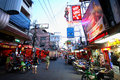 Red light district in Pattaya Royalty Free Stock Photos