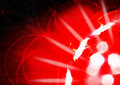 Red Light Explosion Royalty Free Stock Image