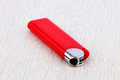 Red lighter Royalty Free Stock Photo
