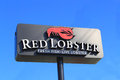 Red Lobster Logo Royalty Free Stock Image