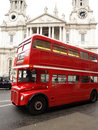 Red London Bus Royalty Free Stock Photo