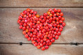 Red Love Beans Stock Photography