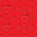 Red Love Heart Template