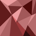 Red low poly design element background