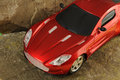 Red luxury car Royalty Free Stock Photo
