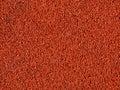Red macadam floor Stock Photos