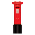 Red Mail Box-England-London-Icon-symbol Stock Images