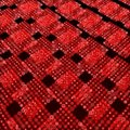Red matrix surface background Royalty Free Stock Photo
