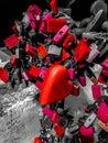Red, Mecha, Robot, Machine