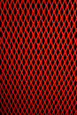 Red Mesh Stock Image
