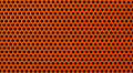 Red metal holed or perforated grid background Stock Photos