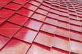 Red Metalized Roof Tiles