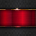 Red metallic background abstract with a futuristic design Royalty Free Stock Photography