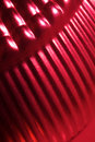 Red metallic texture Royalty Free Stock Photography