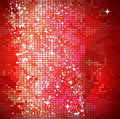 Red mosaic background Royalty Free Stock Photo