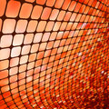Red mosaic background eps vector file included Stock Image
