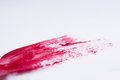 Red Nail Polish Paint Smear Royalty Free Stock Photo