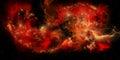 Red Nebula Royalty Free Stock Photo