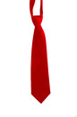 Red Neck Tie Royalty Free Stock Photography