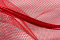 Red netting Royalty Free Stock Photos