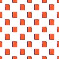 Red notebook pattern seamless