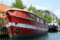 Red old boat Royalty Free Stock Photo