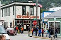 Red onion saloon, Skagway Royalty Free Stock Photo