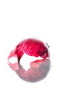 Red onion skin Royalty Free Stock Photo