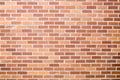 Red brick wall orange bricks stucco masonry background